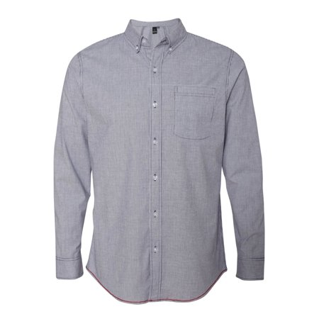 Burnside B8259 Stretch-Stripe Long Sleeve Shirt