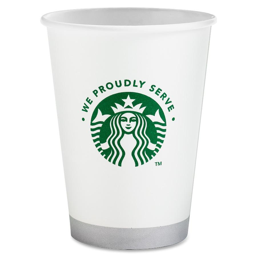 Starbucks Coffee Compostable Hot/cold Cup - 12 Oz - 1/carton - White (SBK11002236)
