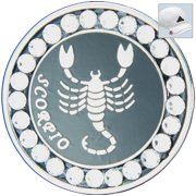 Bella Crystal Golf Ball Marker & Hat Clip - Zodiac Collection - Scorpio
