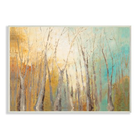 The Stupell Home Decor Collection Watercolor November Wall Plaque Art