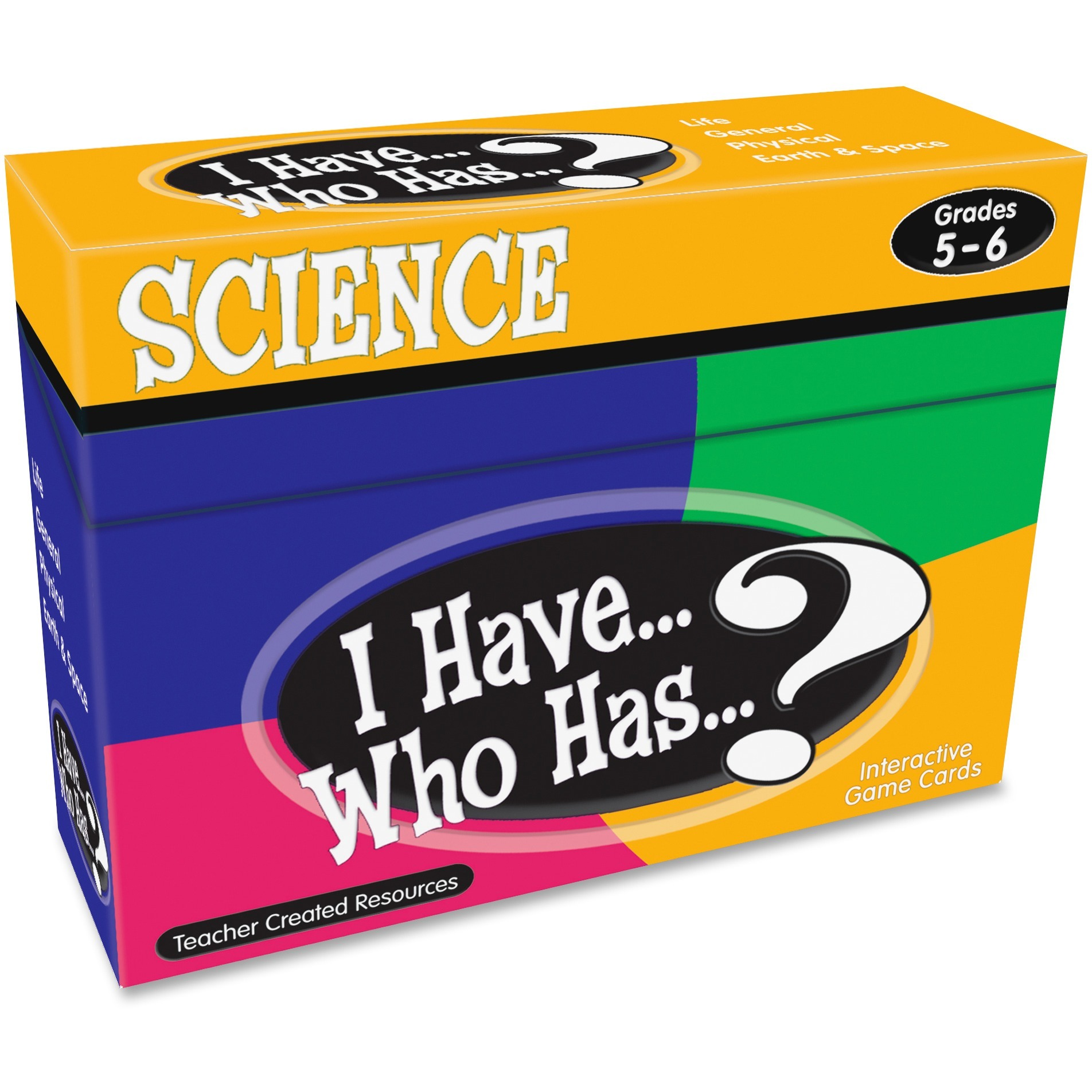 Teacher Created Resources, TCR7859, Gr 5-6 I Have Science Game, 1 Each, Multi