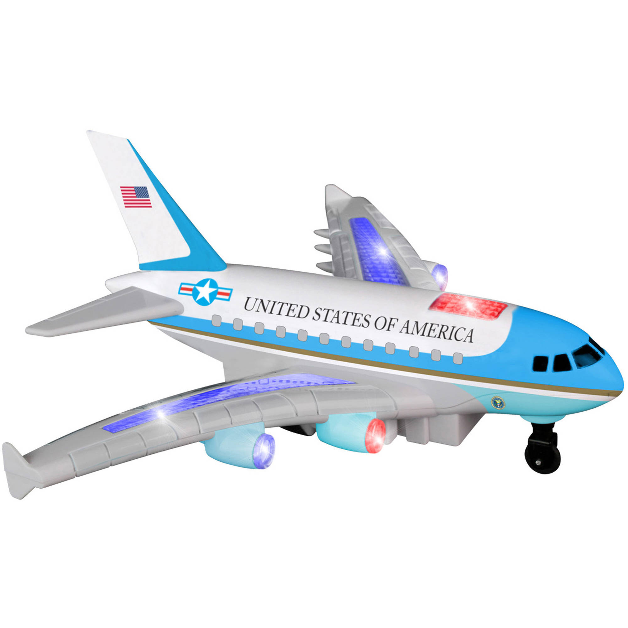 Daron Radio Control Air Force One Plane with Lights and Sound by Daron