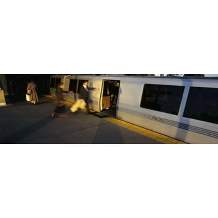 Bay Area Rapid Transit Oakland California USA Canvas Art - Panoramic Images (18 x -