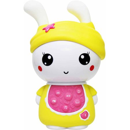 Image of Alilo Sweet Bunny with Music and Story Playing Capabilities 4 GB Micro SD Card, Yellow