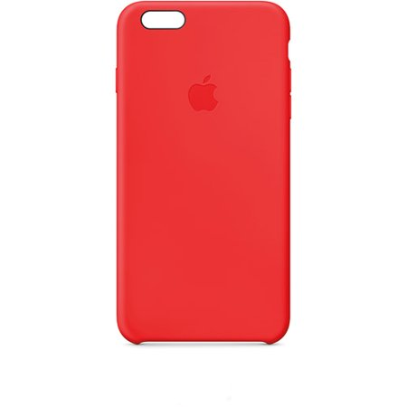 best service 0b204 391f2 Apple Silicone Case for iPhone 6s Plus and iPhone 6 Plus - (PRODUCT) Red