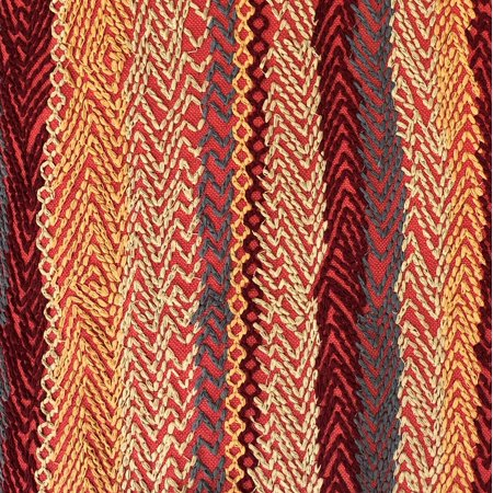 Plutus PBRA2309-1220-DP Red Cosmo Multicolor Luxury Throw Pillow, 12 x 20 in. - image 2 of 3