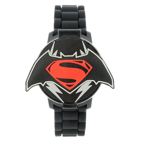 BVS4009WM BATMAN VS SUPERMAN COVER LCD WATCH