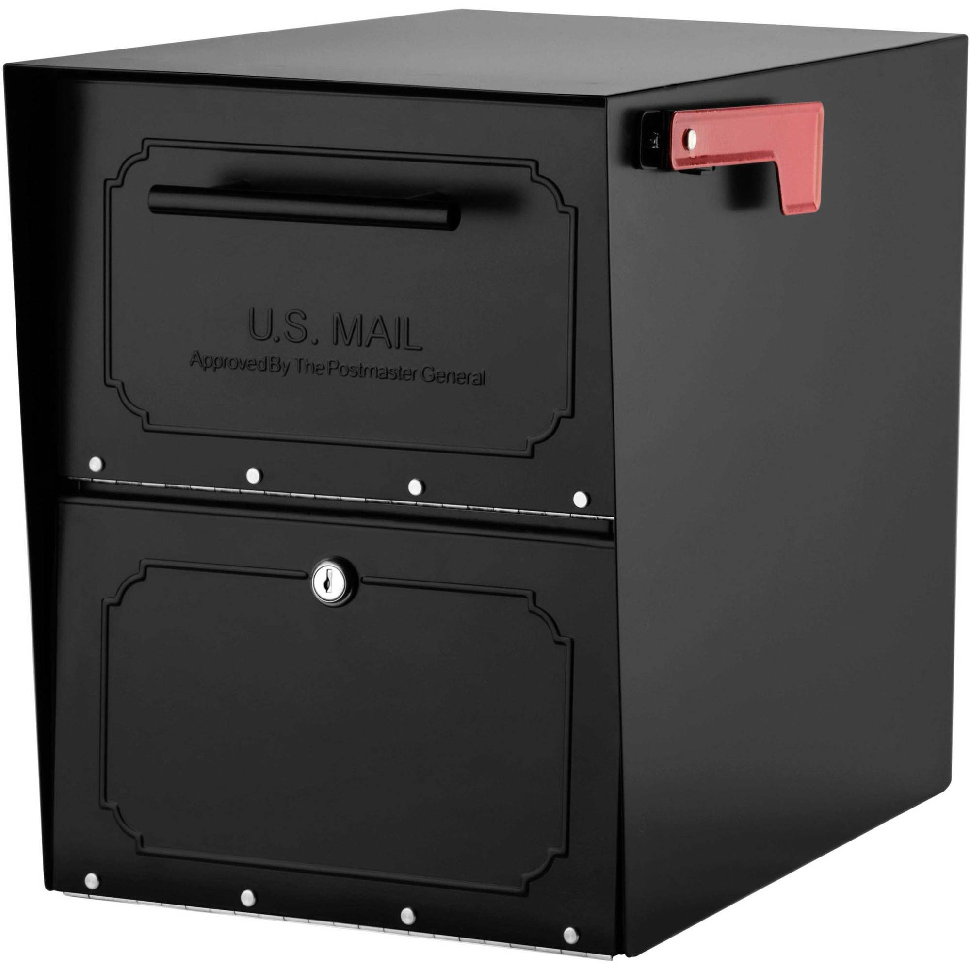 Architectural Mailboxes Oasis Locking Post Mount Mailbox by Mailboxes