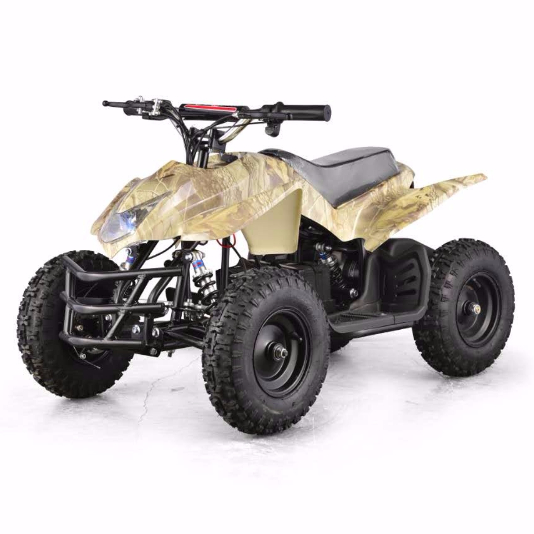 Titan 24V 350W Electric Quad Battery Powered MINI ATV Oak