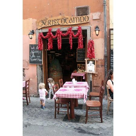 Laminated Poster Chilis Rome Restaurant Menu Checkered Tablecloth Poster Print 24 X 36