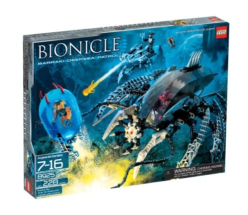 Lego BIONICLE Barraki Deepsea Patrol