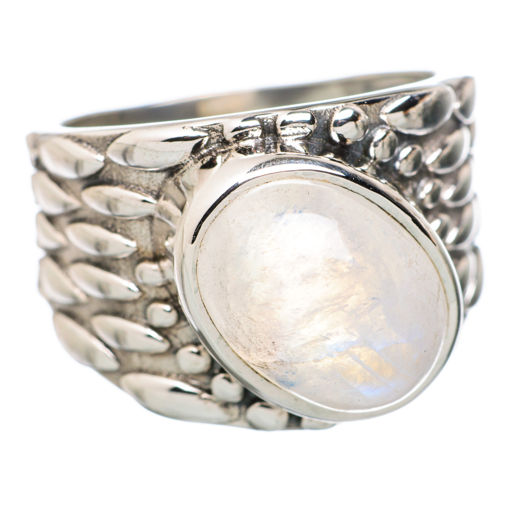 Ana Co Rainbow Moonstone 925 Sterling Silver Ring Size 9 RING810513