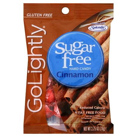 Cinnamon Sugar Free Candy (Go Lightly Sugarfree Cinnamon Hard Candy, 2.75 Ounce Bag )