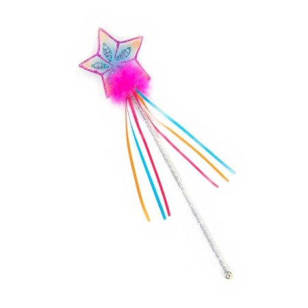 Glitter Rainbow Wand - Fuchsia & Pink - Dress-Up by Creative Education (15890) - Creative Halloween Customs
