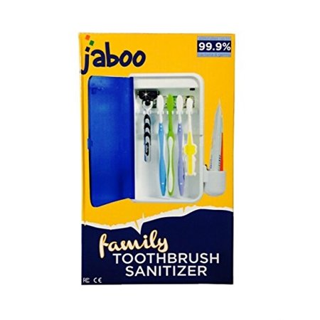Toothbrush Sanitizer Sterilizer - Jaboo UV Ultraviolet Family Toothbrush Sanitizer Sterilizer Cleaner