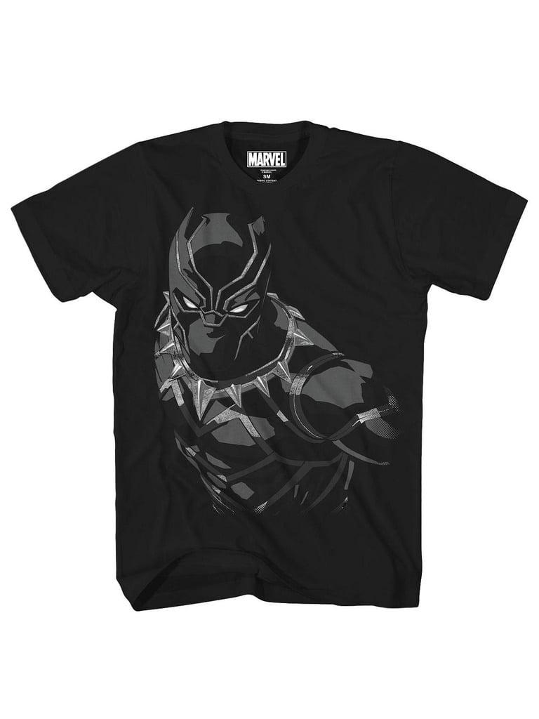 Marvel Black Panther Boys' Panther Creep Tee (4)