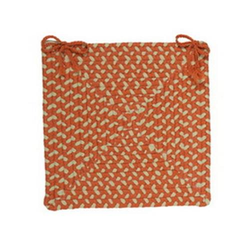 Colonial Mills Montego - Tangerine Chair Pad (set 4)