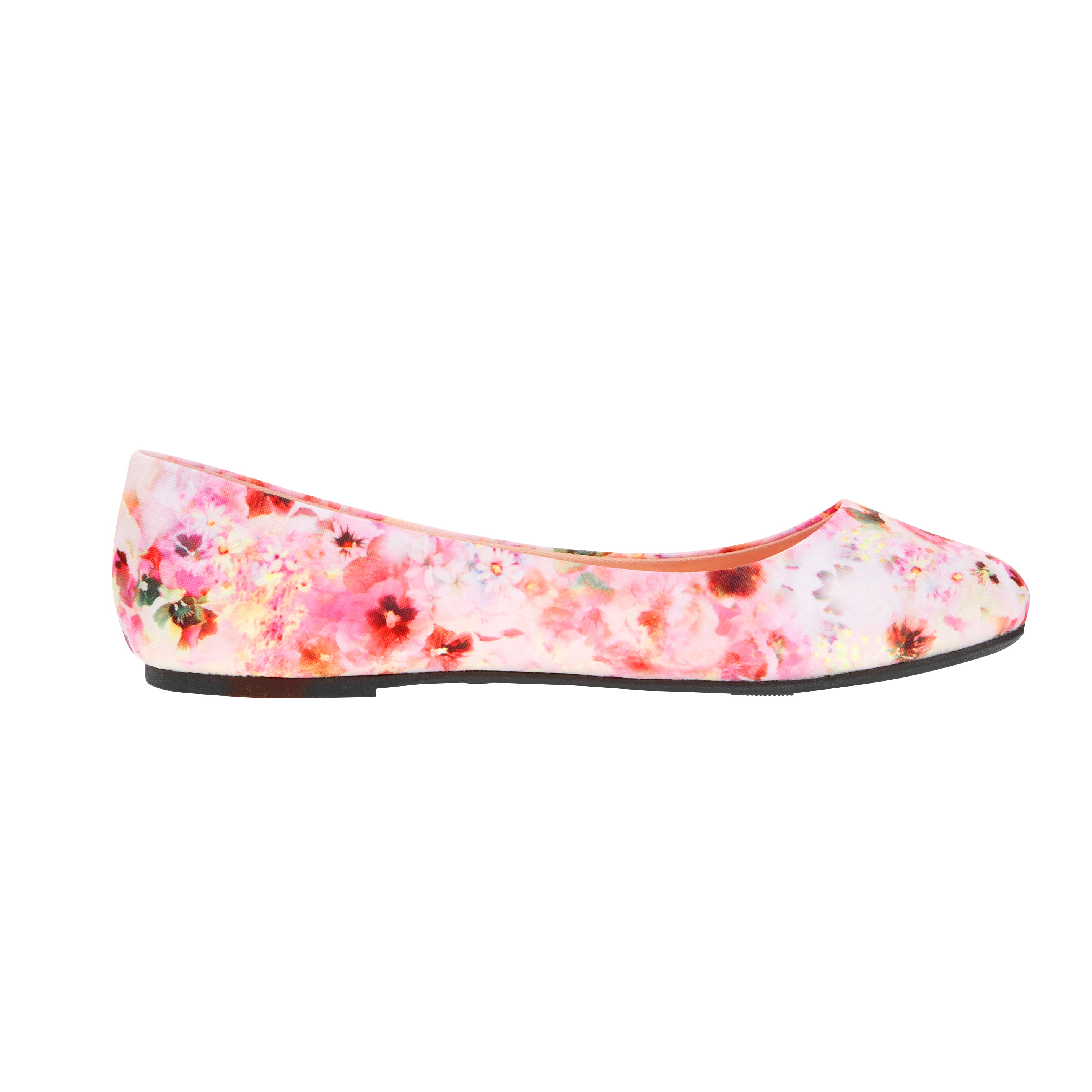 b35323afa96c Time and Tru Women s Medium and Wide Width Basic Ballet Flat ...