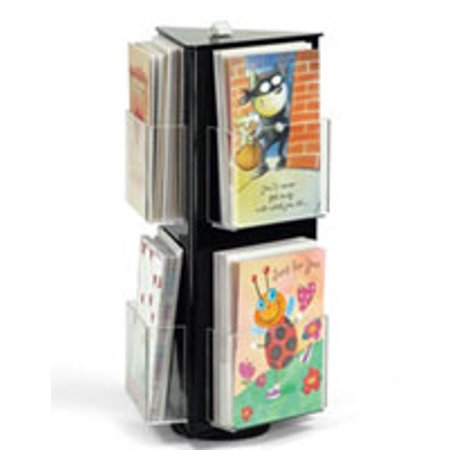 Greeting card display stands compare prices at nextag displays2go black acrylic greeting card display stand wit m4hsunfo