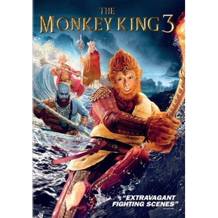 The Monkey King 3 (DVD) (Monkey Go Happy Halloween Heart)