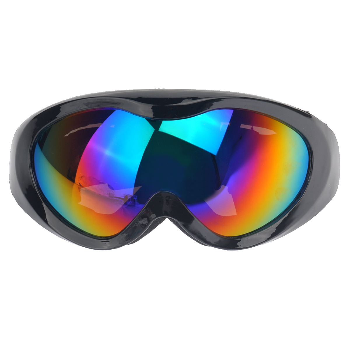 Adjustable Outdoor Sports Cycling Motorcross Skiing Unisex Windproof UV-Protection Rainbow Lens Safety Goggles Glasses... by