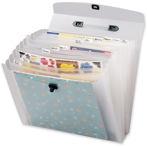 "Memory File Expandable Storage Case, 12"" x 12"""