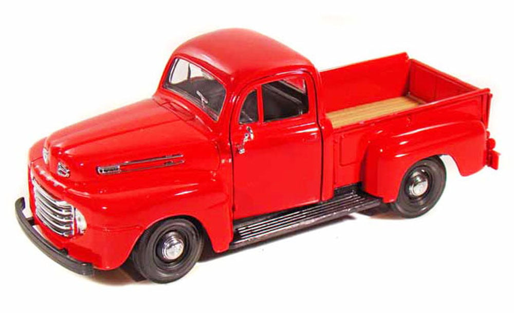 1948 Ford F-1 Pickup Truck, Red Maisto 31935 1 25 Scale Diecast Model Toy Car by Maisto