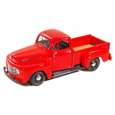 (1948 Ford F-1 Pickup Truck, Red - Maisto 31935 - 1/25 Scale Diecast Model Toy Car)