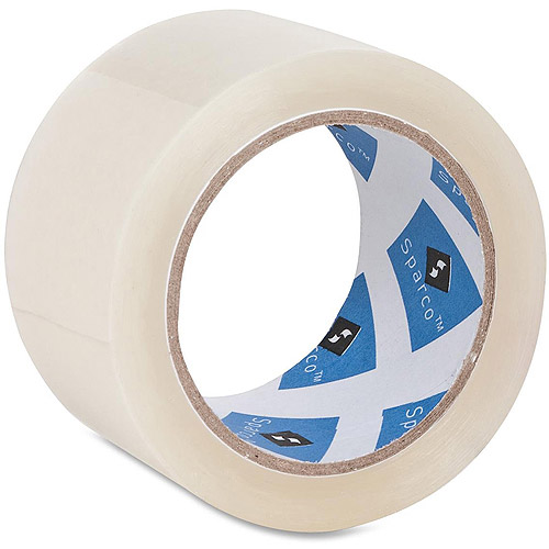 Sparco Premium Heavy-Duty Packaging Tape Roll