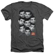 Mr Bean Heads Mens Heather Shirt