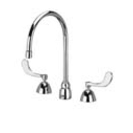 Zurn Z831C4-XL-HS Polished Chrome Widespread Lead Free Double Handle Faucet Hs Widespread Lead