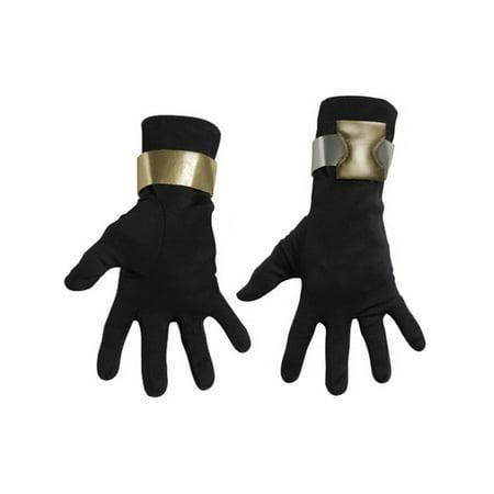 Deluxe Adult GI Joe Snake Eyes Black Ninja Costume Gloves](Ninja Eyes)