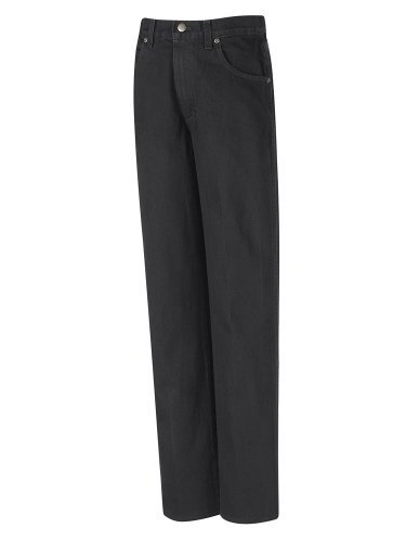 PD60 Men's Relaxed Fit Jean Prewashed Black 42W x Unhemmed