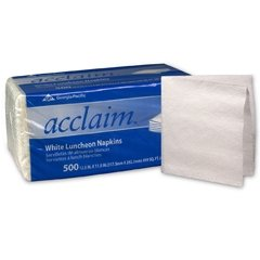 Georgia Pacific Acclaim Luncheon Napkin - 37707CS - 6000 Each / (Pacific Luncheon Napkins)