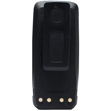 Motorola MotoTRBO PMNN4066A Battery Replacement with Clip - For Motorola  PMNN4065, PMNN4066, PMNN4066A Two-Way Radio Battery (1800mAh, 7 4V,