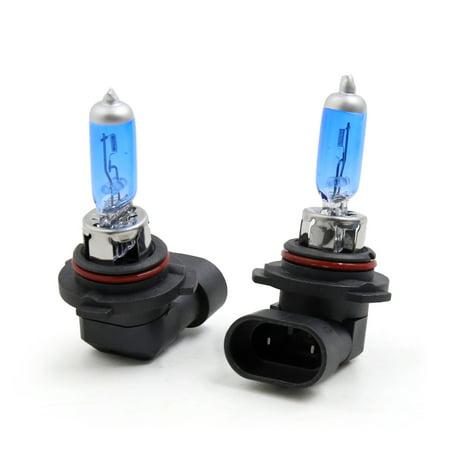 2 Pcs DC 12V 100W 9006 Super White Halogen Lamp Car Fog Light Headlight  Bulbs