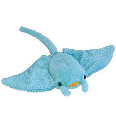 TY Beanie Baby - SUNRAY the Manta (Manta Rays Animals)