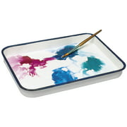 Jack Richeson Butcher Tray Palette, 13 x 17 in, Porcelain On Steel, White