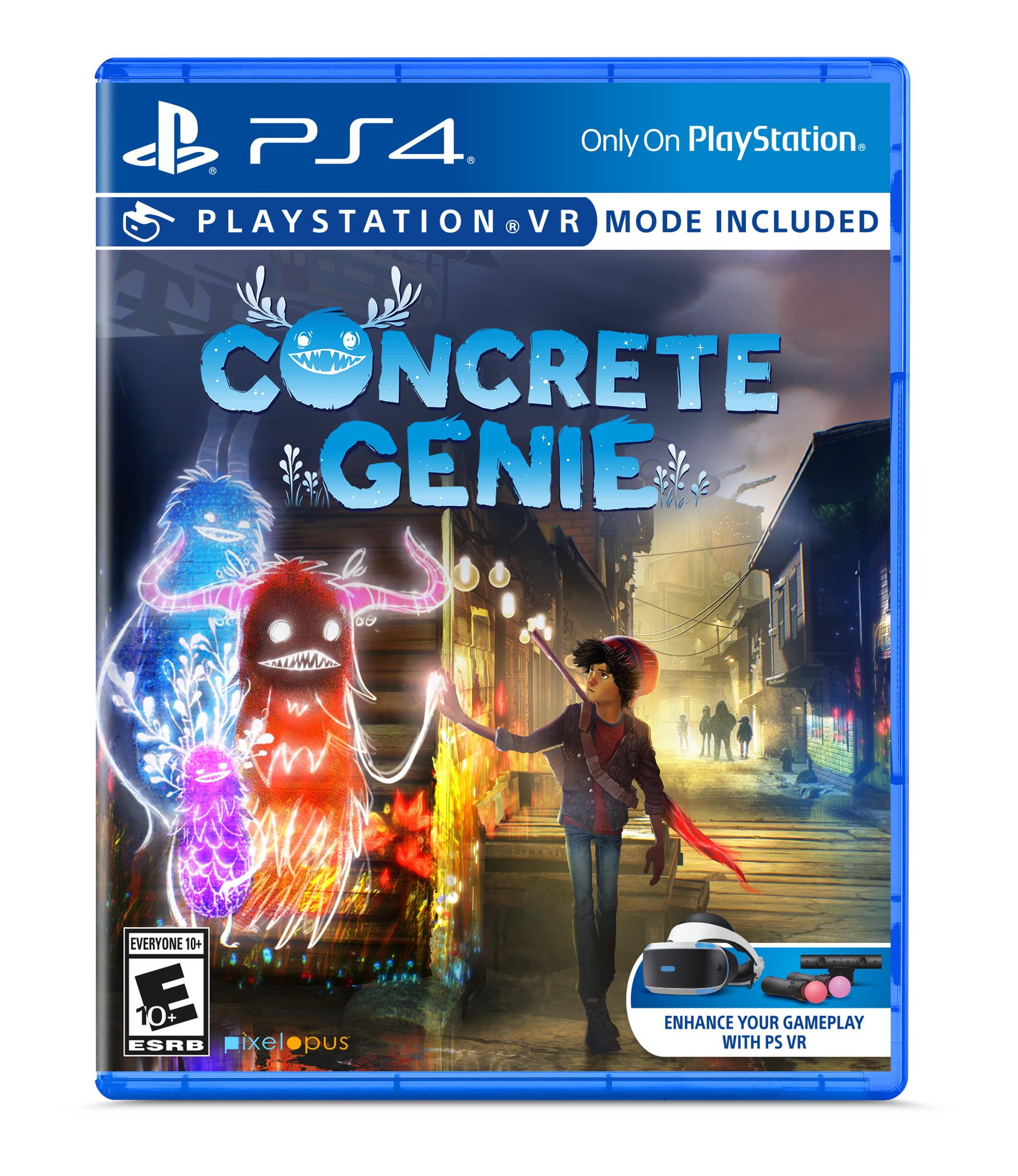 Concrete Genie, Sony, Playstation 4, 711719518976