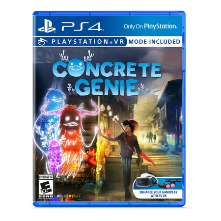 Concrete Genie, Sony, Playstation 4, 711719518976