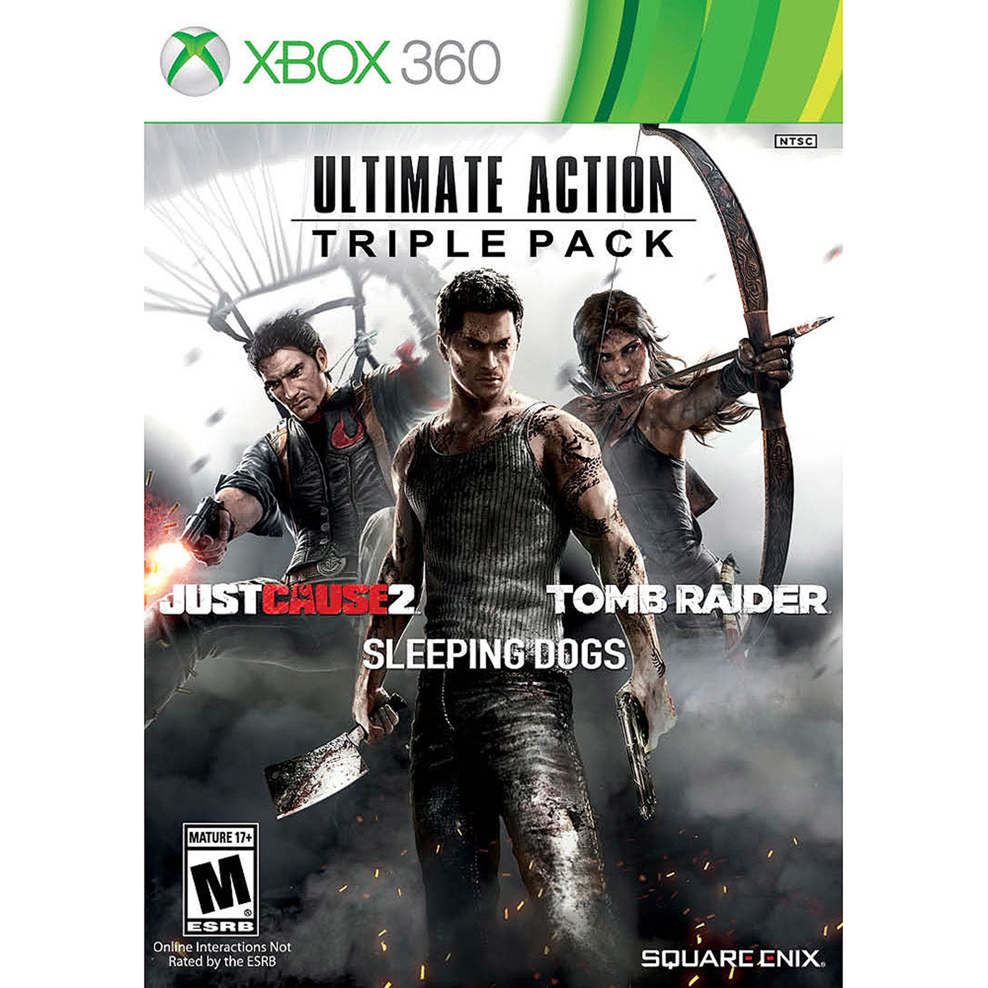 Ultimate Action Triple Pack, Square Enix, Xbox 360, 662248916194