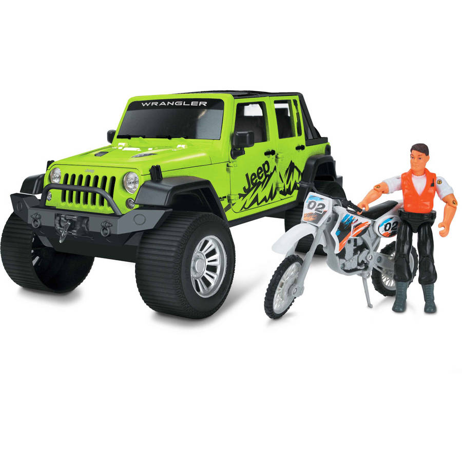 Jeep Adventure Force Action Set