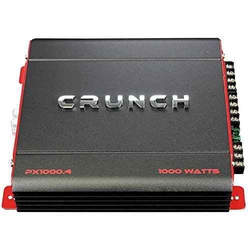 Crunch PX10004 Px Series 1000w 4ch Amplifier