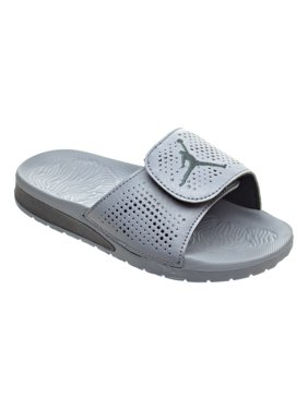 049dd7ef352 Jordan Hydro 5 BP Little Kid s Sandals Cool Grey Metallic Hematite Black  820259-