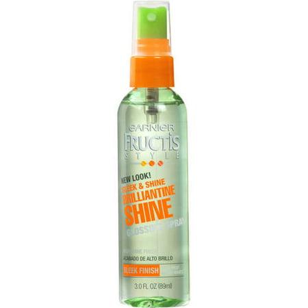 Shine Spray - Garnier Fructis Style Brilliantine Shine Glossing Spray, 3 fl. oz.