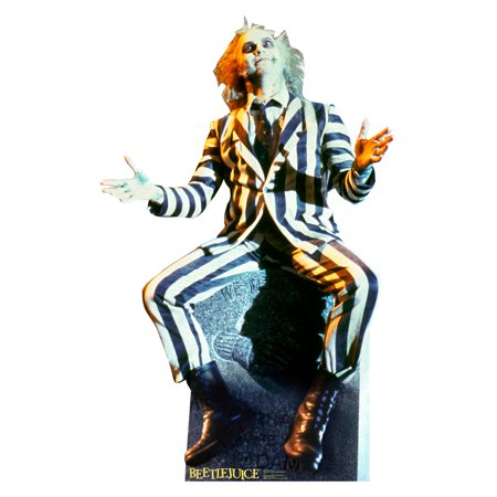 Beetlejuice Cardboard Cutout Life Size Party Prop Decor Birthday Party Supplies Size - 65