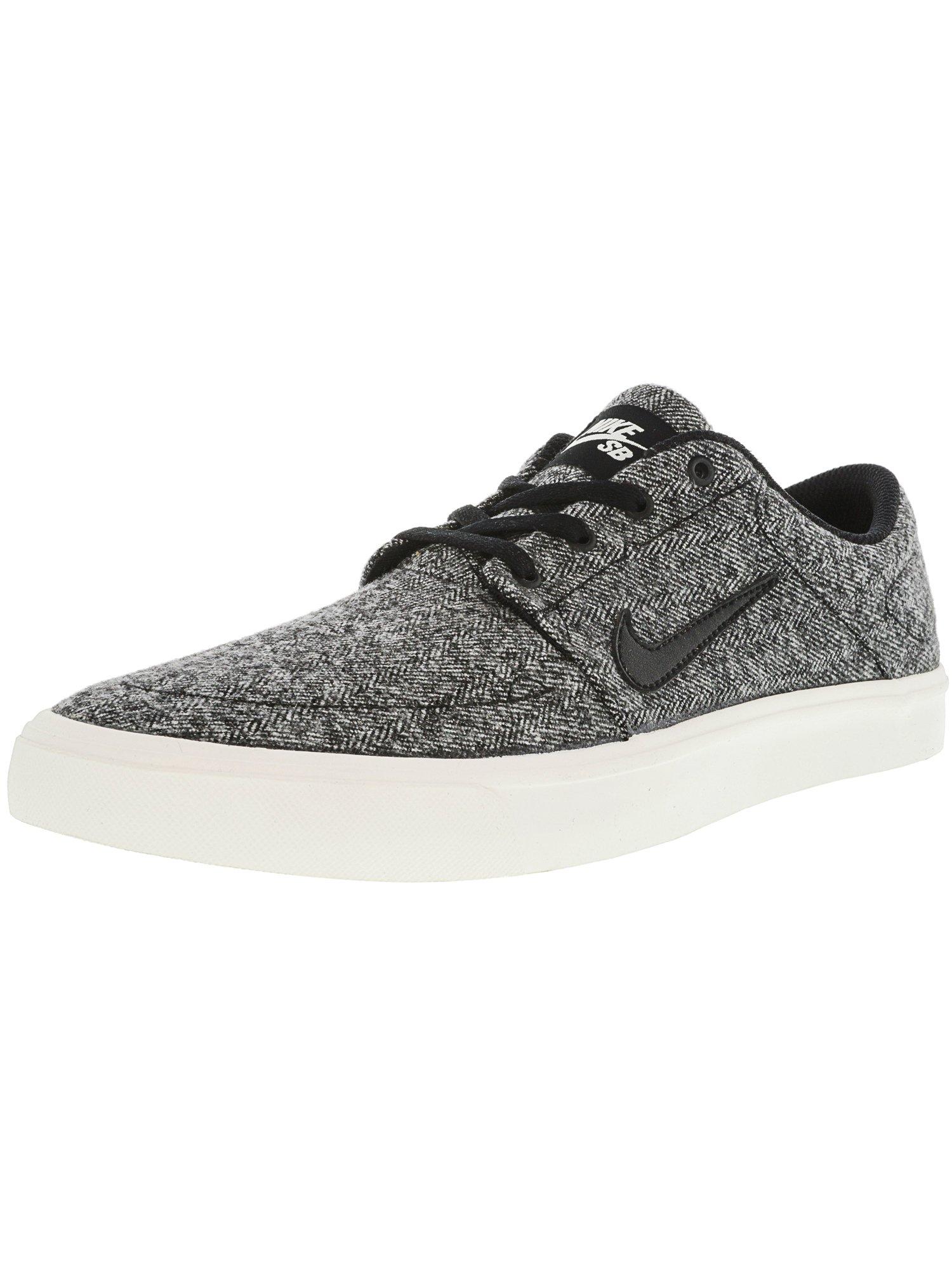 f548ed4dcfc8 Nike Men s Sb Portmore Ultralight Black   White-Black Ankle-High  Skateboarding Shoe - 9.5M