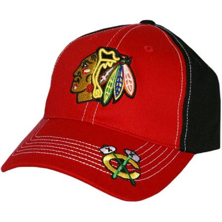 Nhl Chicago Blackhawks Revolver Cap   Hat By Fan Favorite