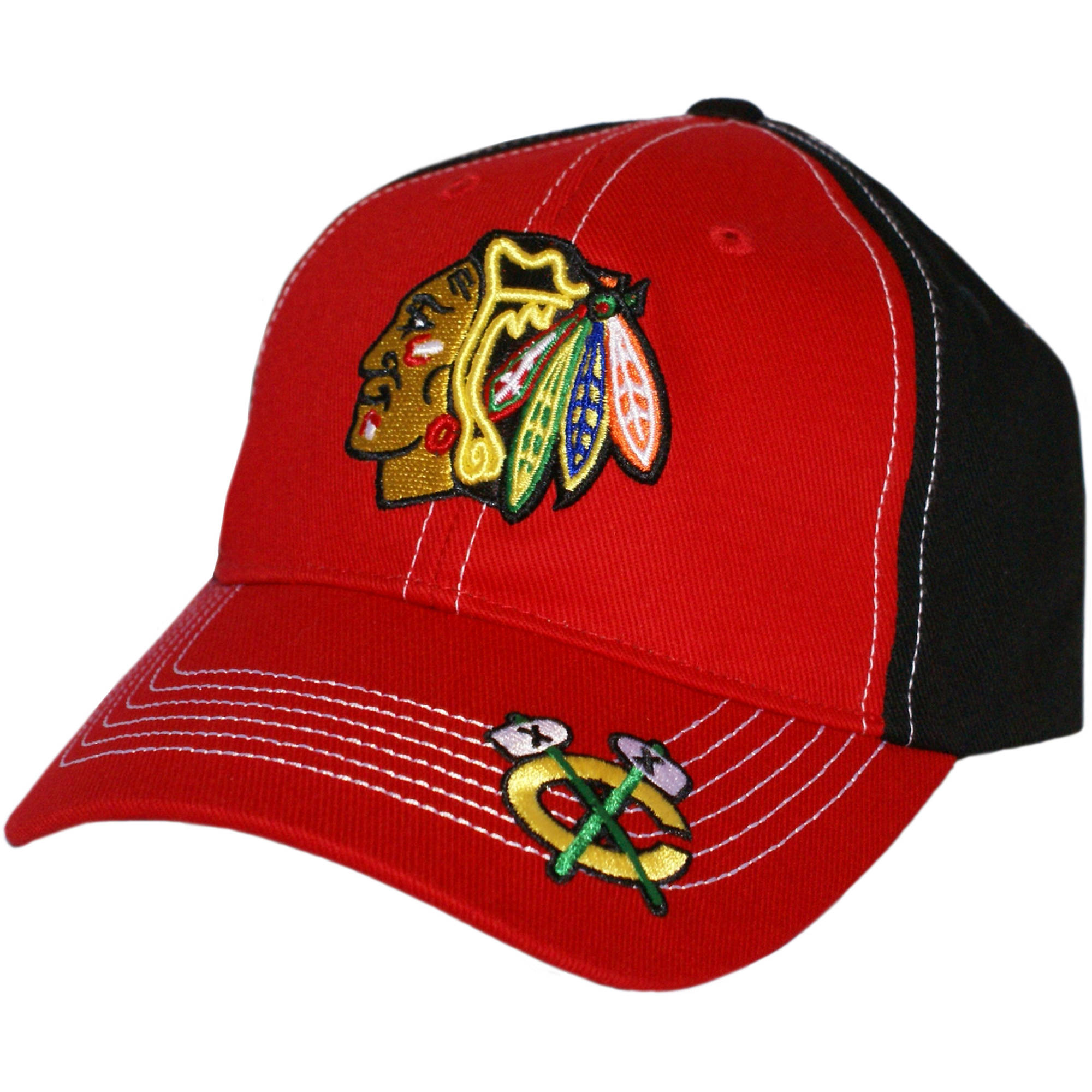 NHL Chicago Blackhawks Revolver Cap / Hat by Fan Favorite