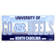 University of North Carolina GO HEELS novelty vanity license plate